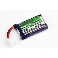 Turnigy nano-tech 260mAh 1S 35~70C (QR Ladybird/Genius CP/Mini CP)