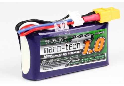 Turnigy nano-tech 1000mAh 3S 25~50C