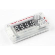 Индикатор напряжения и температуры HK