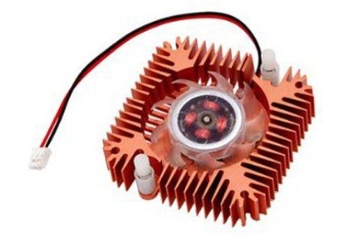 Вентилятор охлаждения с радиатором