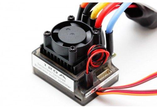 Бесколлекторный регулятор скорости 120А