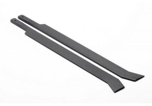 Пластиковые лопасти черные 325 мм