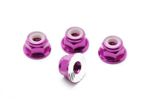 Гайки для крепления дисков 4шт (пурпурный)
