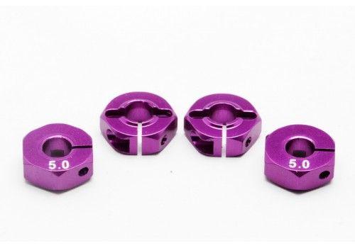 Адаптер колесный фиолетовый 5мм (Хаб)
