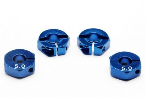Адаптер колесный синий 5мм (Хаб)