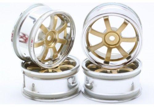 Диски HPI - 7 лучей золото/хром