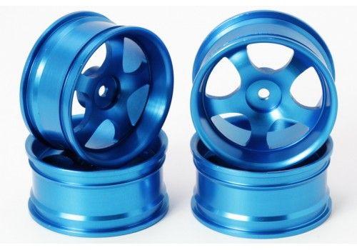 Диски стальные 5 лучей синего цвета