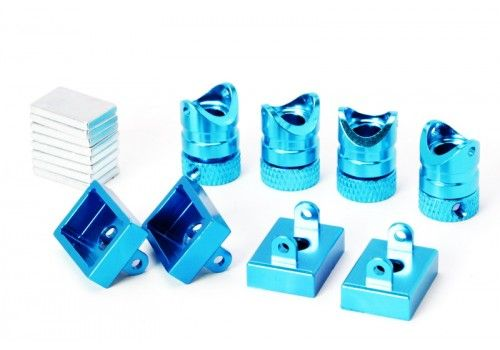 Магнитное крепления кузова, синий