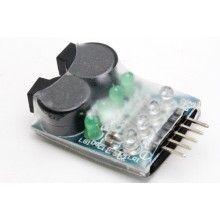 Индикатор заряда батареи со звуком 2-4s