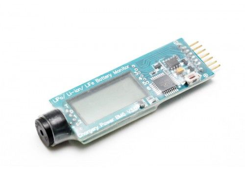 Индикатор заряда батареи со звуком 2-6s