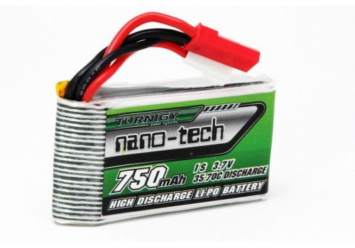Turnigy nano-tech 750mAh 1S 35-70C