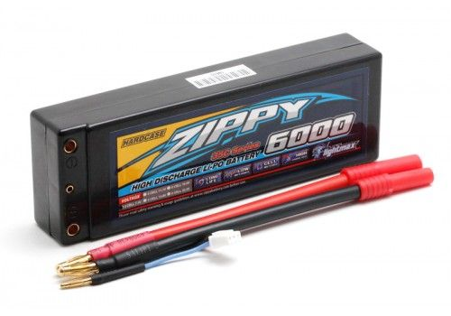 ZIPPY Flightmax 6000mah 2S2P 35C