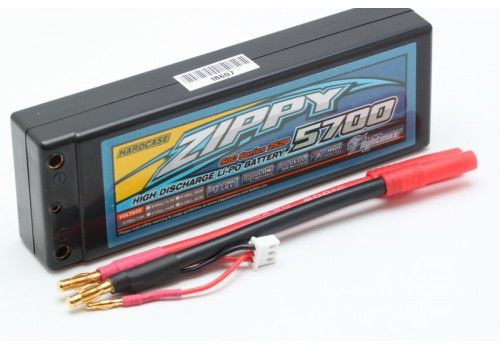 ZIPPY Flightmax 5700mah 2S2P 50C