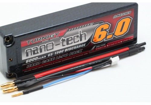 Turnigy nano-tech 6000mah 2S2P Li-Po