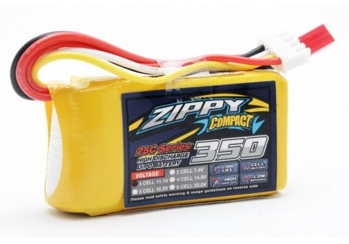 ZIPPY Compact 350mAh 3S1P Li-Po 25C