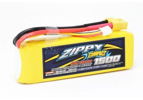 ZIPPY Compact 1500mAh 3S 25C