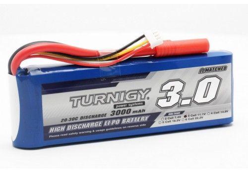 Turnigy 3000mAh 3S1P 20~30C