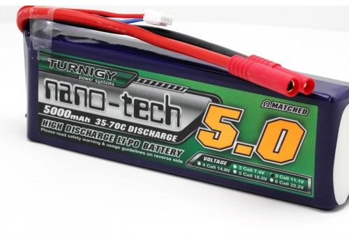 Turnigy nano-tech 5000mAh 3S1P Li-Po