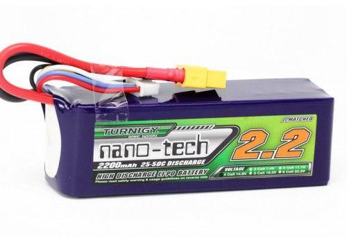 Turnigy nano-tech 2200mah 4S 25~50C