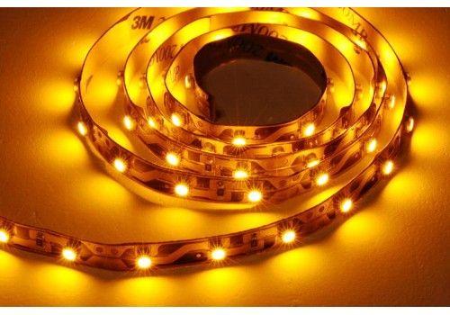 Желтая светодиодная лента метр