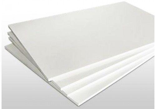 ПВХ лист 2 мм белый с защитной пленкой