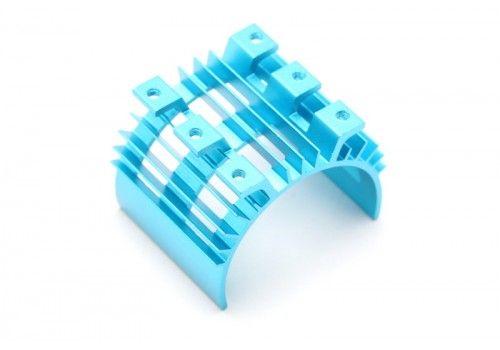Радиатор с ребрами охлаждения синий