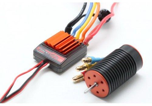 Бесколлекторная система TrackStar 1/18  6100kv