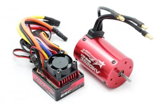 Бесколлекторная система Turnigy TrackStar 3520KV/80A