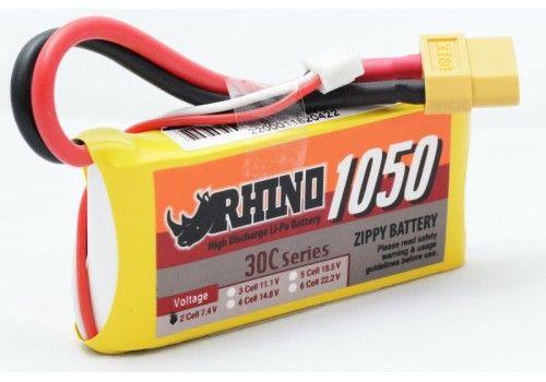 Rhino 1050mAh 2S 7.4v 30C