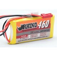 Rhino 460mAh 2S 7.4v 20C
