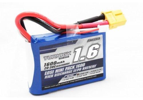 Turnigy 1600mAh 2S 20C Losi Mini SCT Pack (Part LOSB1212)
