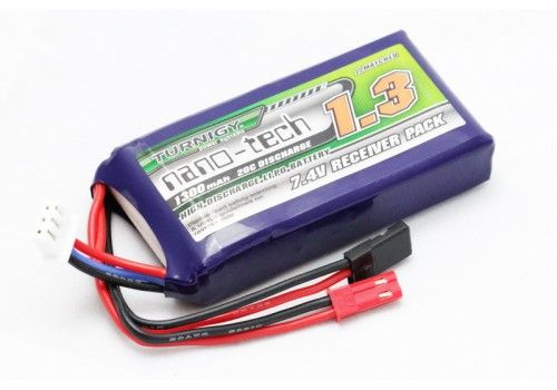 Turnigy nano-tech 1300mAh 2S1P 20~40C