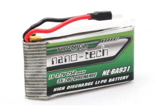 Turnigy nano-tech 750mah 1S 35~70C (Solo-Pro 180)