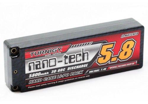 Turnigy nano-tech 5800mah 2S2P 30~60C