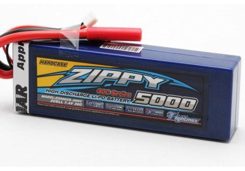 ZIPPY Flightmax 5000mAh 2S1P 30C