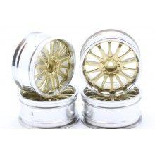 Диски  - 14 лучей золото/хром