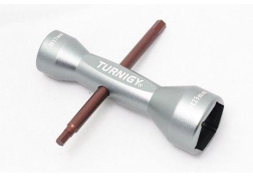 Многофункциональный колесный ключ Turnigy 17 / 23 мм.