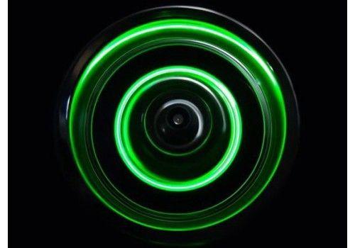 Светодиодная подсветка колес зеленого цвет