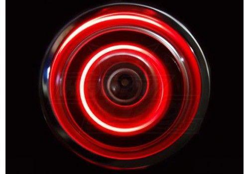 Светодиодная подсветка колес красный цвет