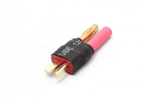 Переходник Т-коннектор (папа) = HXT 4mm